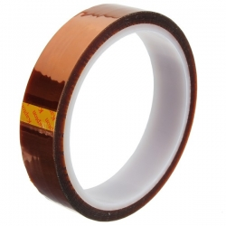 Mobile Phone / Tablet Thermal Polyimide High Temperature Kapton insulation Tape Roll - 20mm x 33m