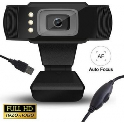LAMTECH FULL HD USB WEB CAMERA AUTOFOCUS WITH LED 1080P